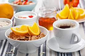 What should diabetics eat for breakfast?