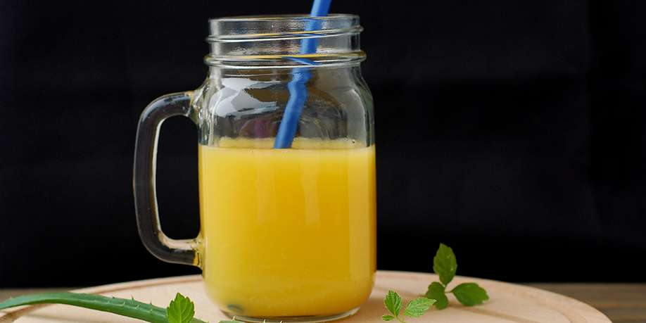 Aloe Vera and Orange Drink