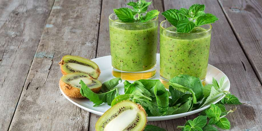 Arugula and Cucumber Cocktail