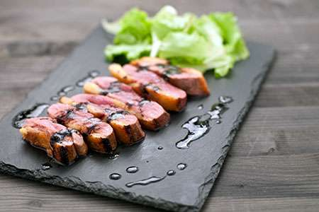 Baked Duck Breasts in Honey and Soy Sauce