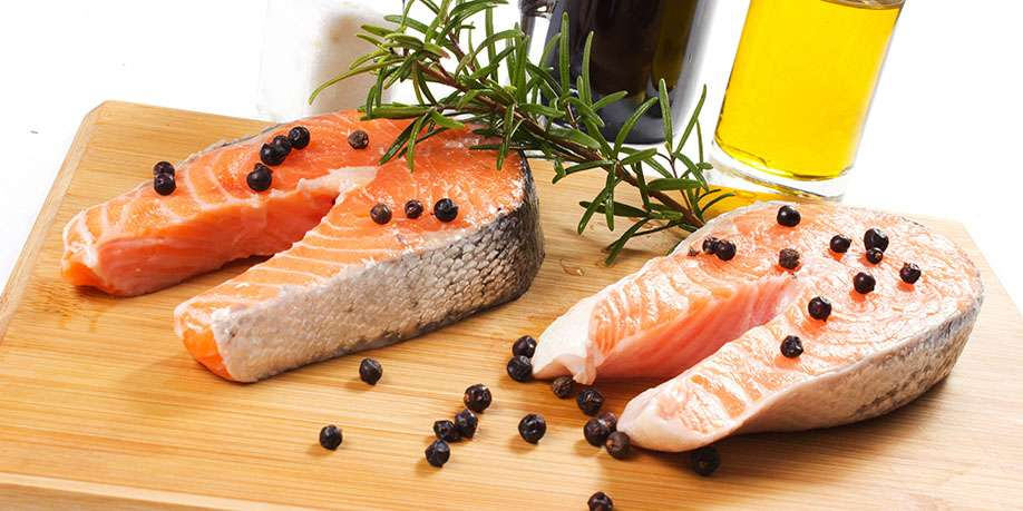 Baked Salmon with Juniper and Rosemary