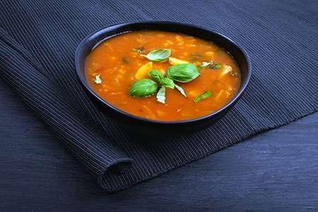 Barley and Tomato Soup