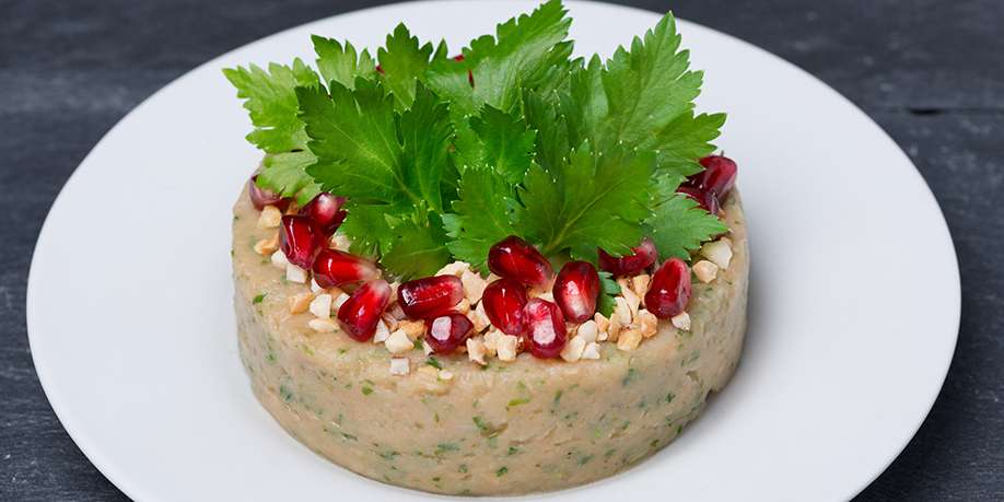 Bean Pate with Nuts