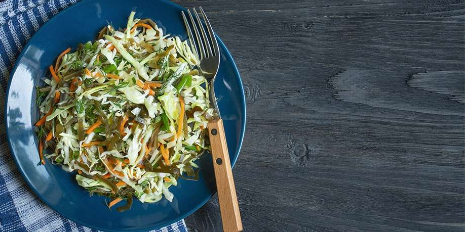 Cabbage and Seaweed Salad