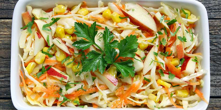 Cabbage Salad with Soy Sauce