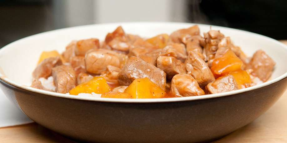 Chicken Breast with Pineapples