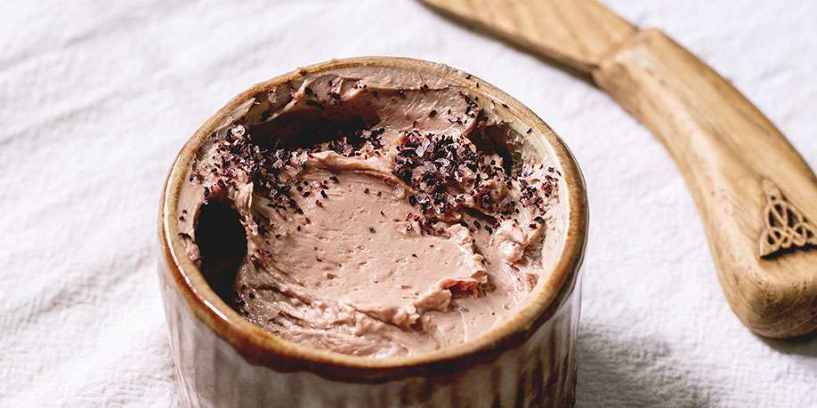 Chicken Liver Pate with Red Wine