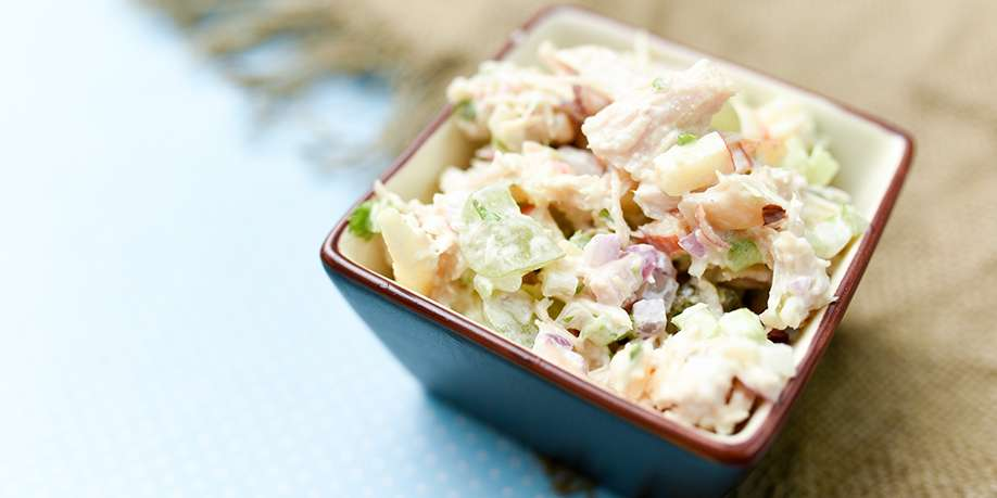 Chicken Salad with Apples and Nuts