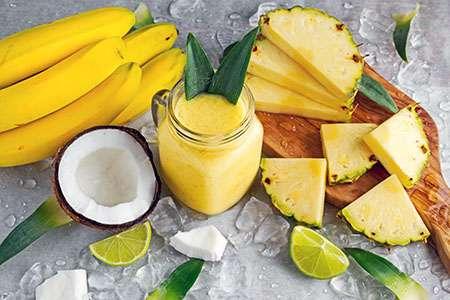 Coconut Lemonade in a Pitcher