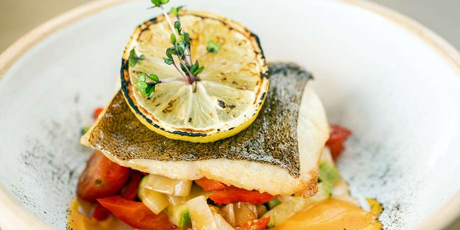 Cod Baked with Vegetables