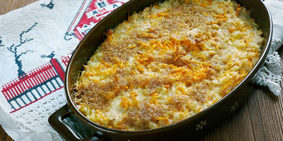 Cottage Cheese Casserole with Carrots