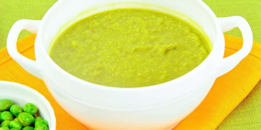 Cream Green Peas Soup