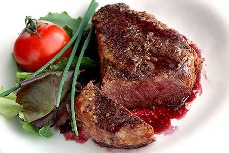 Filet Mignon in Red Wine Sauce