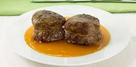 Filet Mignon with Creamy and Pepper Sauce