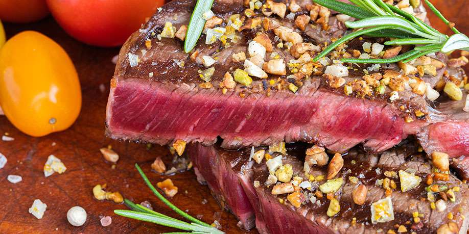 Filet Mignon with Lemon Juice and Spices