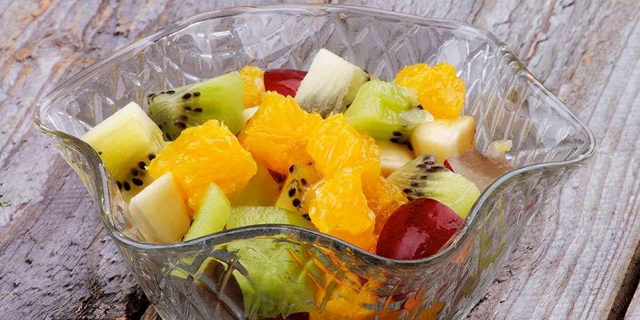 Fruit Salad with Golden Kiwi