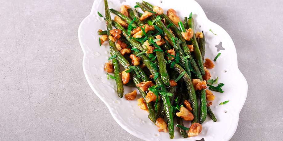 Green Beans with Lemon and Nuts