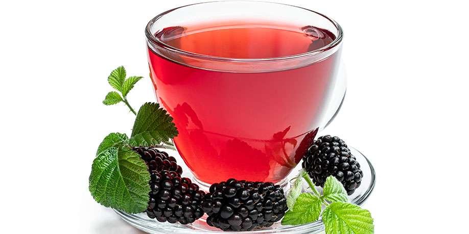 Hot Blackberry Cocktail