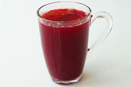Hot Raspberry Cocktail