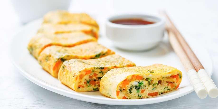 Korean Egg Rolls (Gyeranmari)