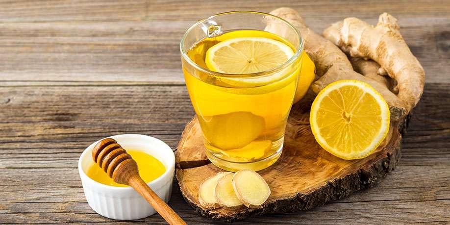Lemon and Honey Hot Drink