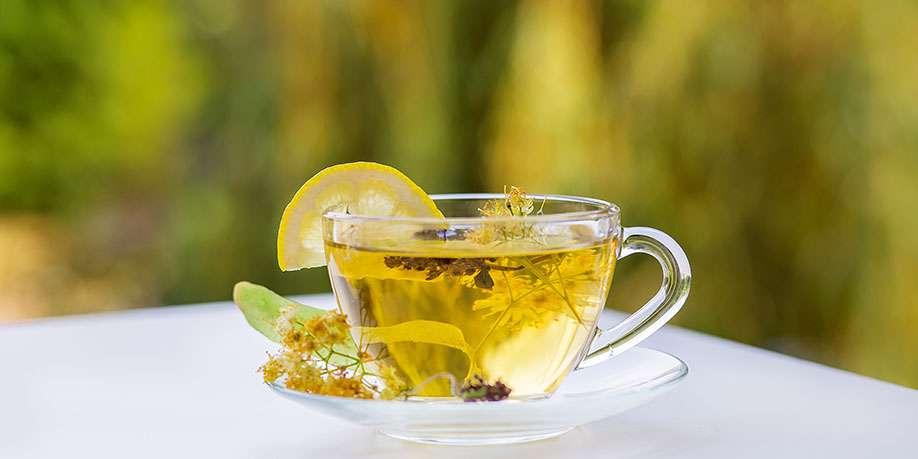 Linden Tea Cocktail