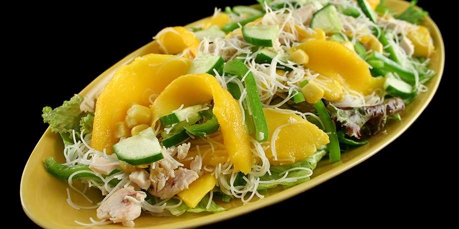Mango, Chicken, and Corn Salad