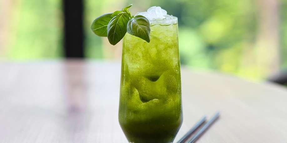 Mint and Basil Lemonade
