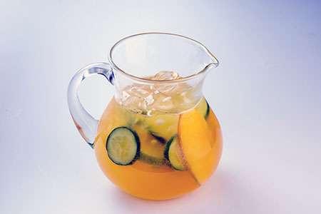 Passion Fruit and Citrus Lemonade