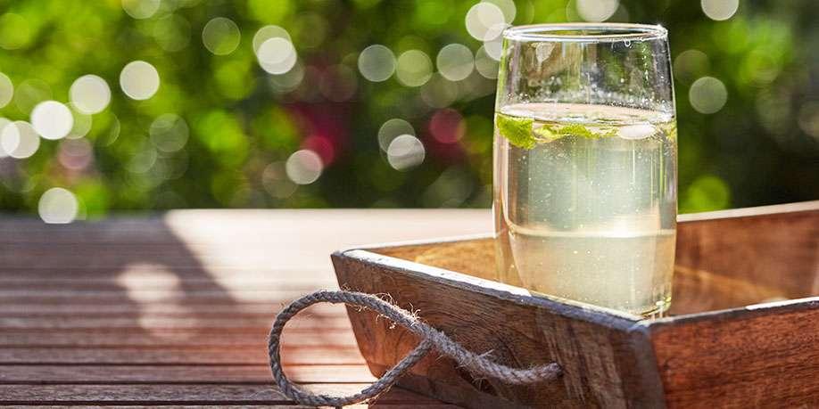 Refreshing Mint Drink