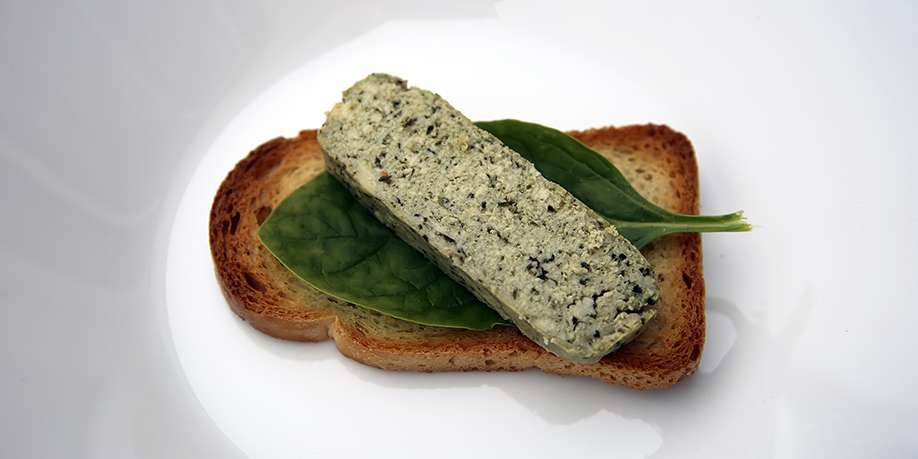 Spinach, Parsley and Tofu Soufflé