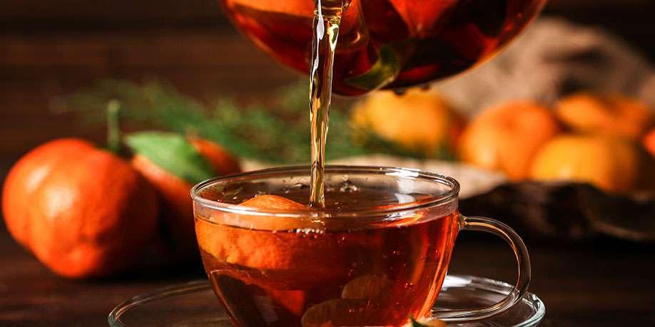 Tangerine Tea with Blackcurrant