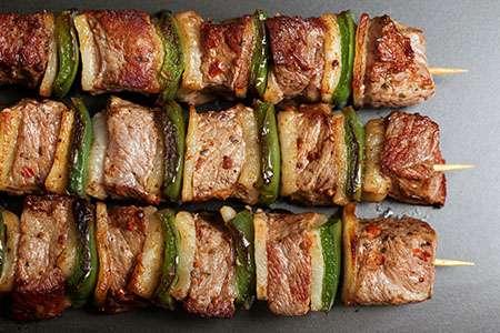 Thai Kebab on Skewers