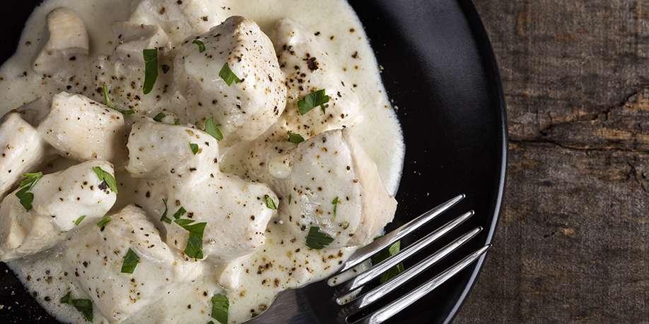 Turkey Breast in Sour Cream