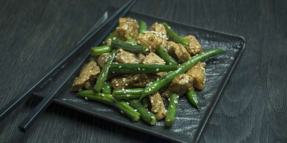 Turkey with Green Beans