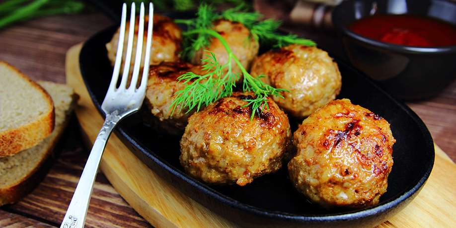 Veal Meatballs with Celery