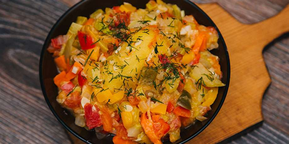 Vegetable Stew with Zucchini