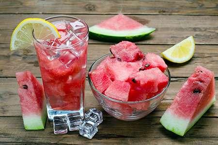 Virgin Watermelon Cocktail