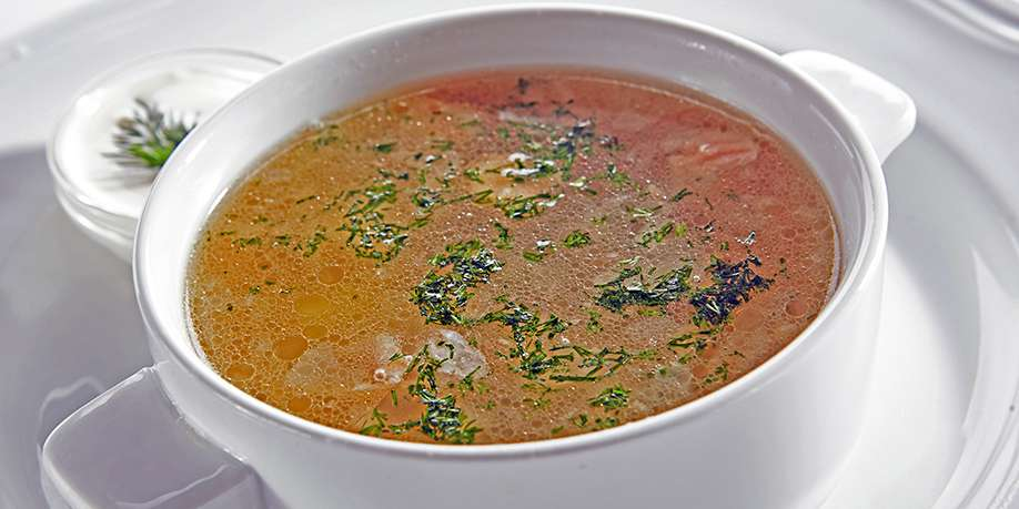 White Fish Soup with Dill